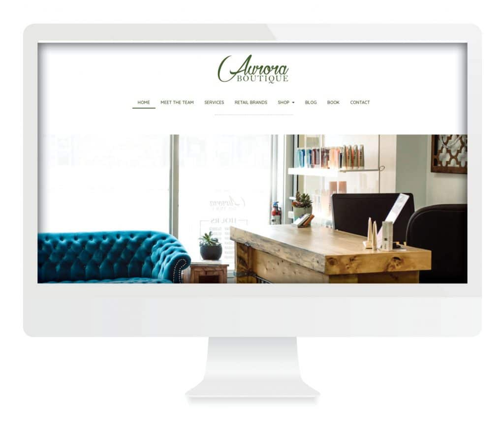 SG New Media Design - Aurora Boutique