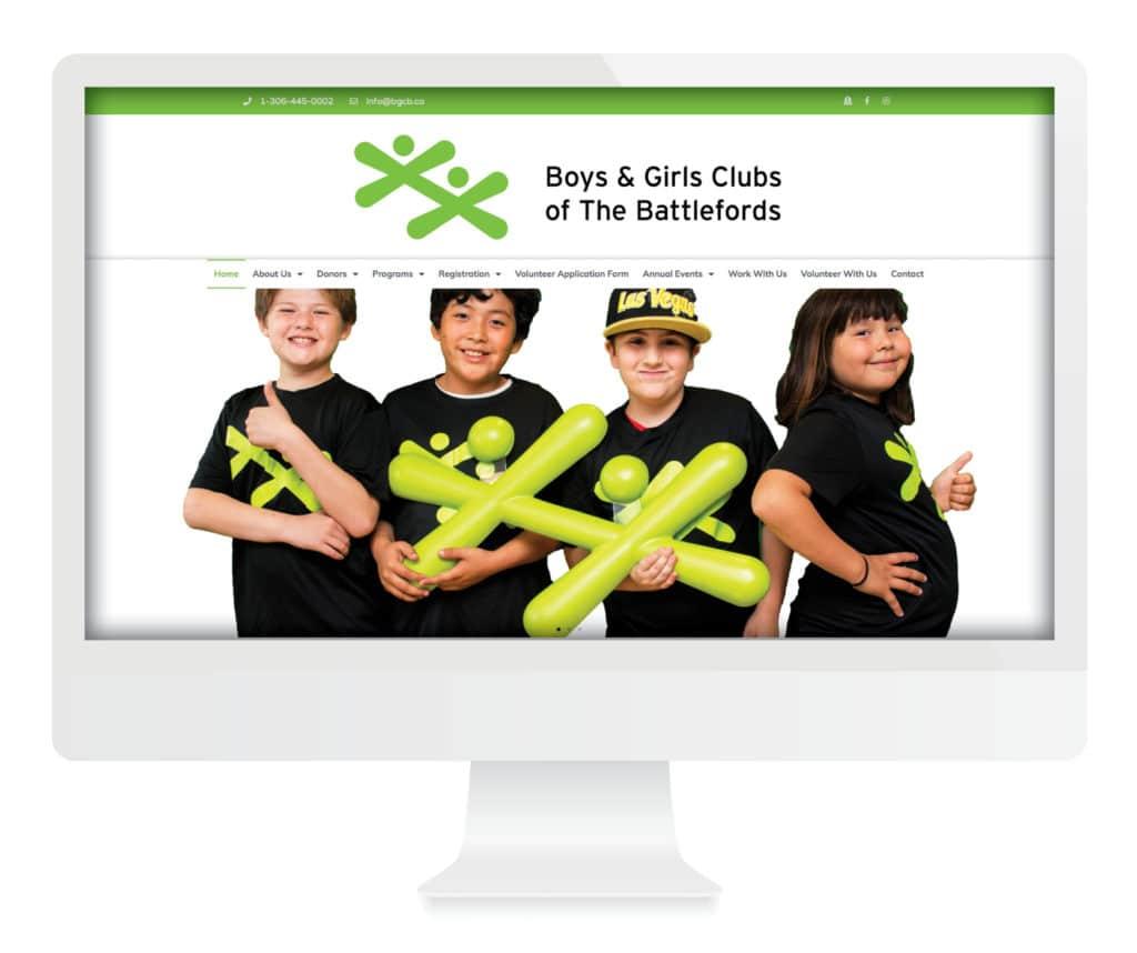 SG New Media Design - Battlefords Boys & Girls Club