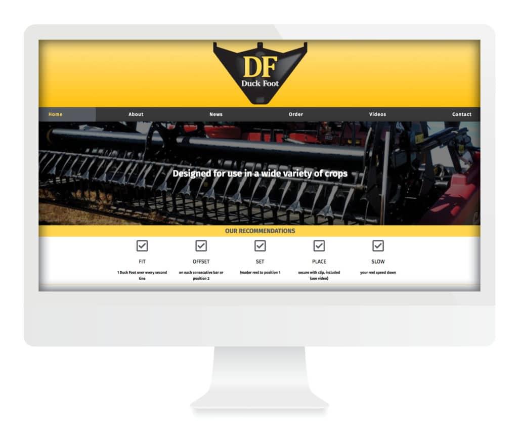 SG New Media Design - Duck Foot Parts