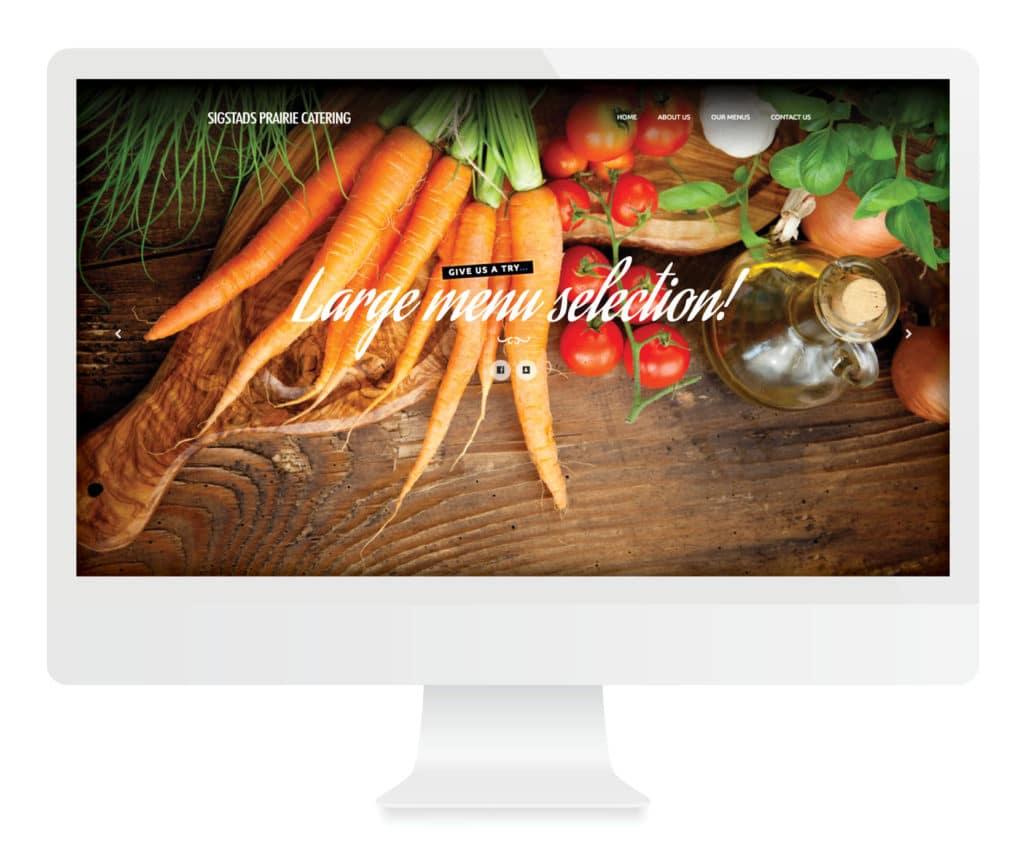 SG New Media Design - Sigstads Prairie Catering