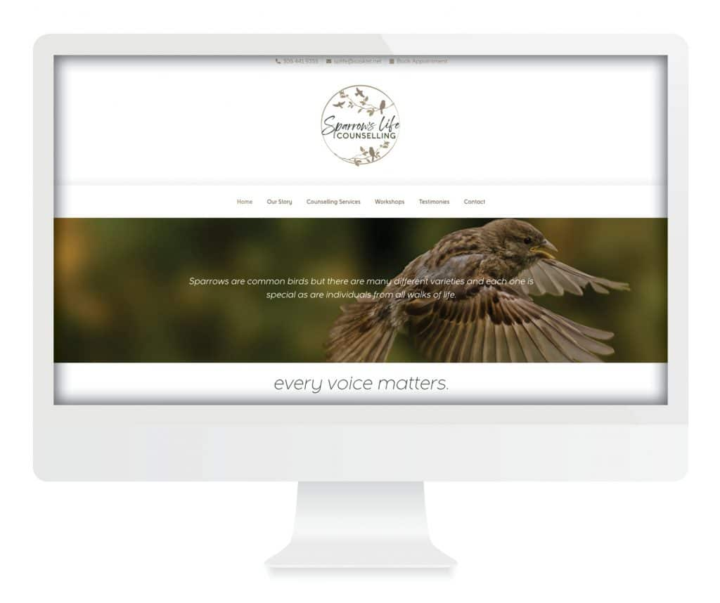 SG New Media Design - Sparrow's Life Counselling